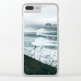 Oregon Coast XIV Clear iPhone Case