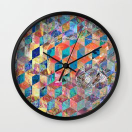 Reflection Two Wall Clock
