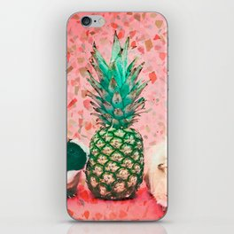 Guinea pig and pineapple iPhone Skin