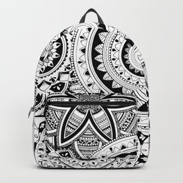 Mandalas in a lace Backpack