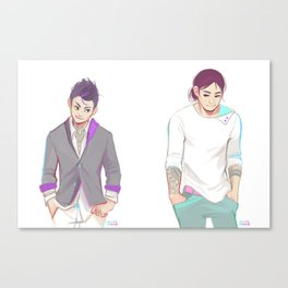 Tiny Yakuza Canvas Print
