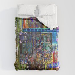 Motherless Whale Eye (or Spies From Imaginary Countries) [Another New Twist on Stupid Series] Duvet Cover