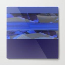 Blue Rush Metal Print
