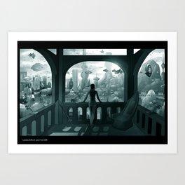 Future London Art Print