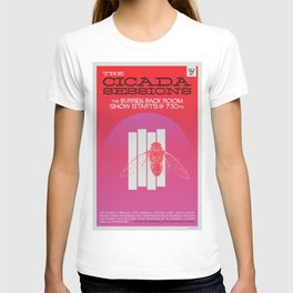 The Cicada Sessions Concert Poster T-shirt