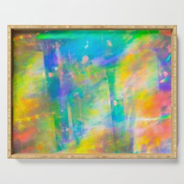 Prisms Play of Light 3 Serving Tray