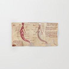 Anatomy of the Mermaid Hand & Bath Towel