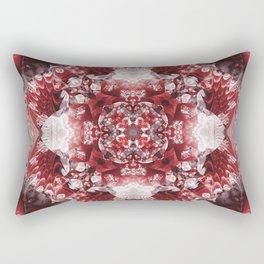 Furious Red Rectangular Pillow