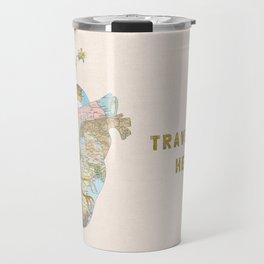 A Traveler's Heart Travel Mug