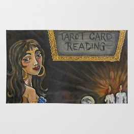 Tia the Tarot Card Reader Rug