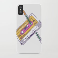 Nostalgia iPhone X Slim Case