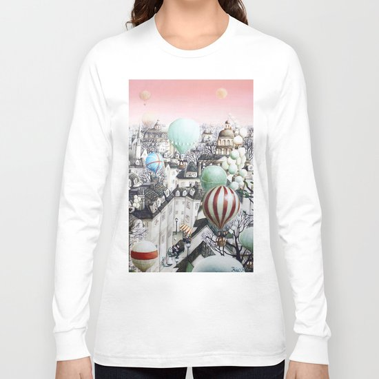 Balloon travel Long Sleeve T-shirt