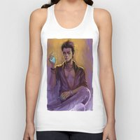 bane Tank Tops featuring Magnus Bane by AkiMao