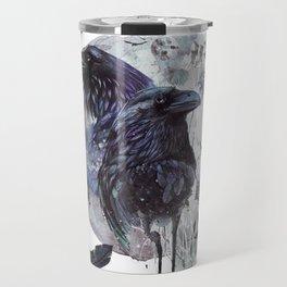 Full Moon Fever Dreams Of Velvet Ravens Travel Mug