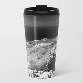 Landscape with hydrangeas Travel Mug