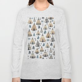 Tepees! Long Sleeve T-shirt