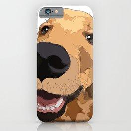 Bitch Please. I'm Fabulous. Golden Retriever Dog. iPhone Case