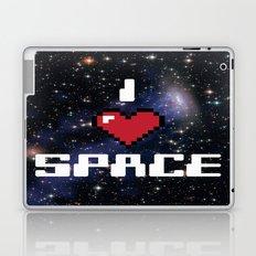 I Heart Space Retro Galaxy Laptop & iPad Skin