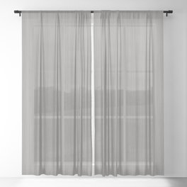 Slate Violet Gray SW9155 Smooth Wood Grain Pattern Sheer Curtain