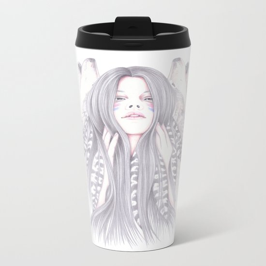 Shadowing Metal Travel Mug
