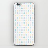 polkadot iPhone & iPod Skins featuring Mini Pastel Polkadot by chelsea dawn brown