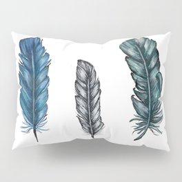 Three Feathers Pillow Sham