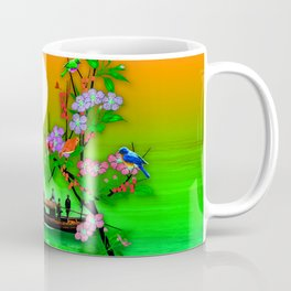 Traditional Japanese fishing boat Coffee Mug