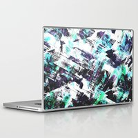 san diego Laptop & iPad Skins featuring San Diego by Kardiak