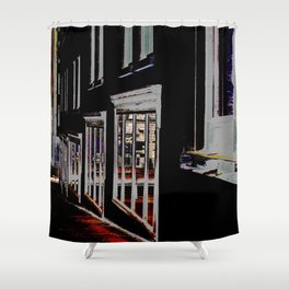 DOWNTOWN HALIFAX Shower Curtain