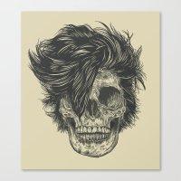dead Canvas Prints featuring Dead Duran by Rachel Caldwell