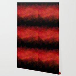Abstract Red Black Dark Matter Wallpaper