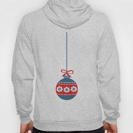 Scandinavian Christmas Ball 01 Hoody