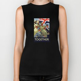 Together -- British Empire WW2 Biker Tank