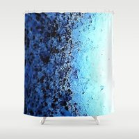 crystals Shower Curtains featuring CrystalS by 2sweet4words Designs