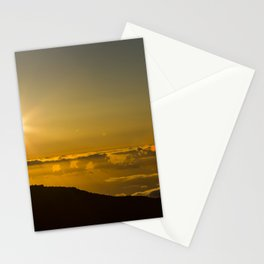 La Palma sunset Stationery Cards
