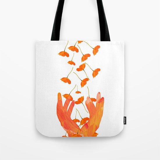 Wonderful Poppy Flowers Orange Coral Color White Background #decor #society6 #buyart by pivivikstrm