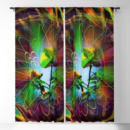 Abstract - Perfection - Fertile Imagination Blackout Curtain