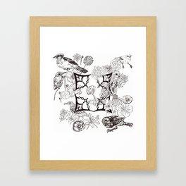 Floral Interlude Framed Art Print