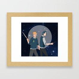 simon and baz Framed Art Print