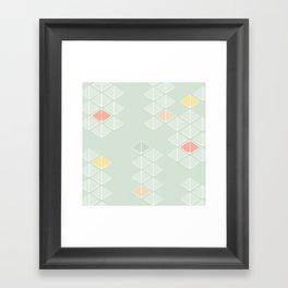 Japanese Pattern: Spring Framed Art Print