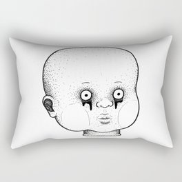 Babydoll Head Rectangular Pillow