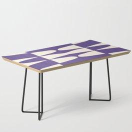 Zaha Ultra Violet Coffee Table