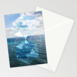 Sacred Geometry Seaview Stationery Cards