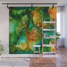 Emerald Impressions Wall Mural