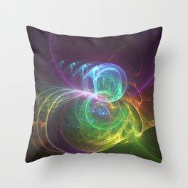 Spun Glass Throw Pillow