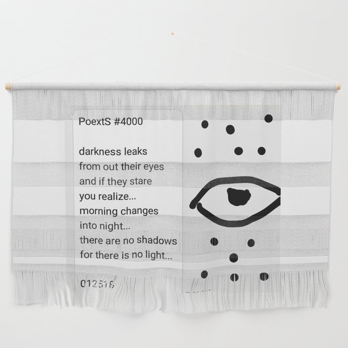 Poexts #4000 Wall Hanging