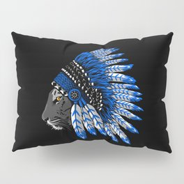 Indian chief tiger Pillow Sham