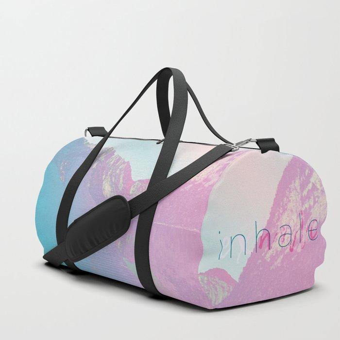 Inhale / Exhale Duffle Bag