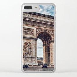 Arc De Triomphe - Paris Clear iPhone Case