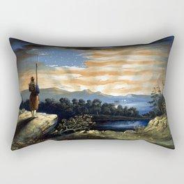 Our Heaven Born Banner Rectangular Pillow